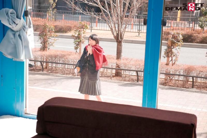 あかね マジックミラー号でおっぱいもみもみインタビュー 寝る時用のブラジャー付けてる育ちの良い女子○生 キャプチャー画像 1枚目
