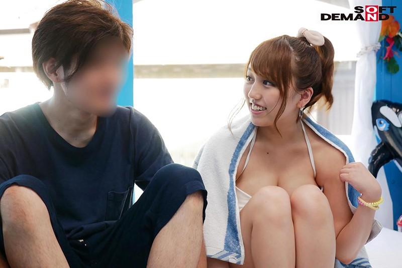 みれい(22)美容部員 マジックミラー号 常夏の海!水着娘を彼氏の前で寝取って真正中出し2連発!1