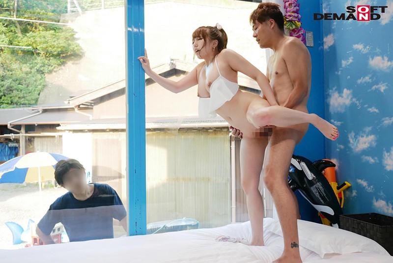 みれい(22)美容部員 マジックミラー号 常夏の海!水着娘を彼氏の前で寝取って真正中出し2連発!9