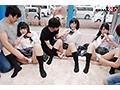 みよ(18)、あいり(18)きこ(18)女子○生 マジックミラー号 初めての6P体験!のサムネイル