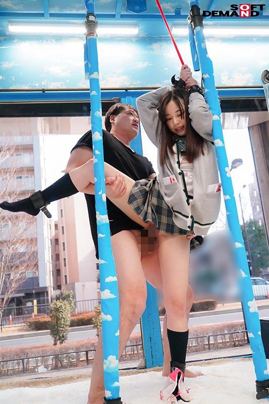 ゆか 必死に声を我慢する妹系女子○生初めての拘束おもちゃ体験 の画像7