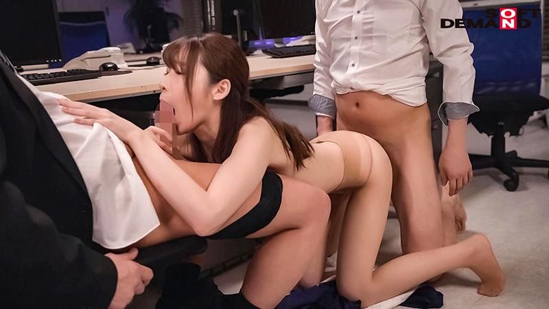 社内でコソコソ上司と不倫している受付嬢を寝取ってレイプ 水沢美心 14枚目