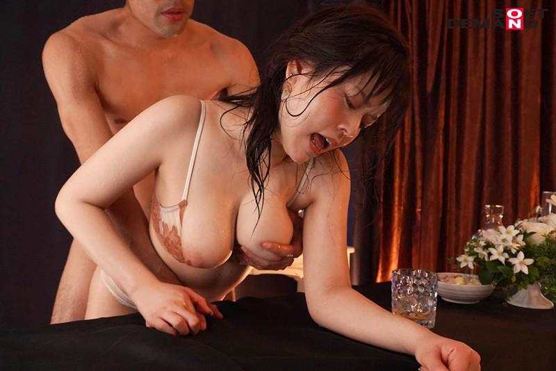 ほろ酔いで開放的になった奥手な癒し系お姉さんとつゆだく汁まみれ絶頂SEX 日乃ふわり