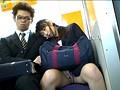 通勤電車で肩に頭を乗せ寝てしまった綺麗な子にドキドキした...sample8