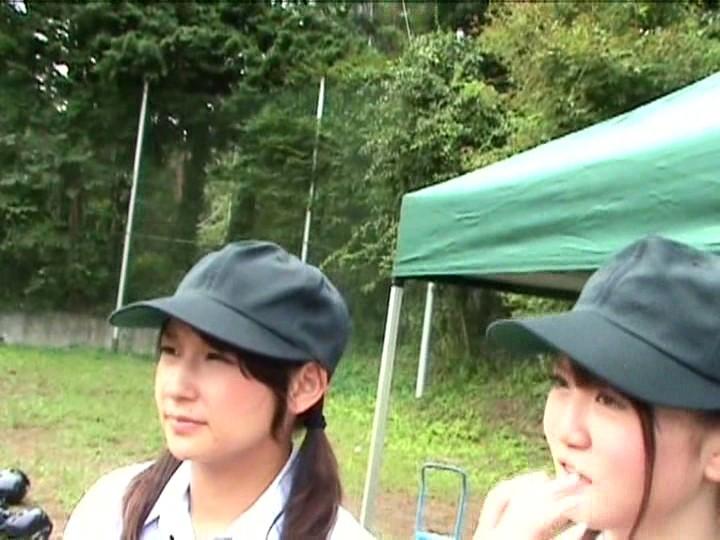 【女子校生 羞恥】汗だくなエロい制服の女子校生JK美少女の羞恥露出フェラプレイが、野外で!!