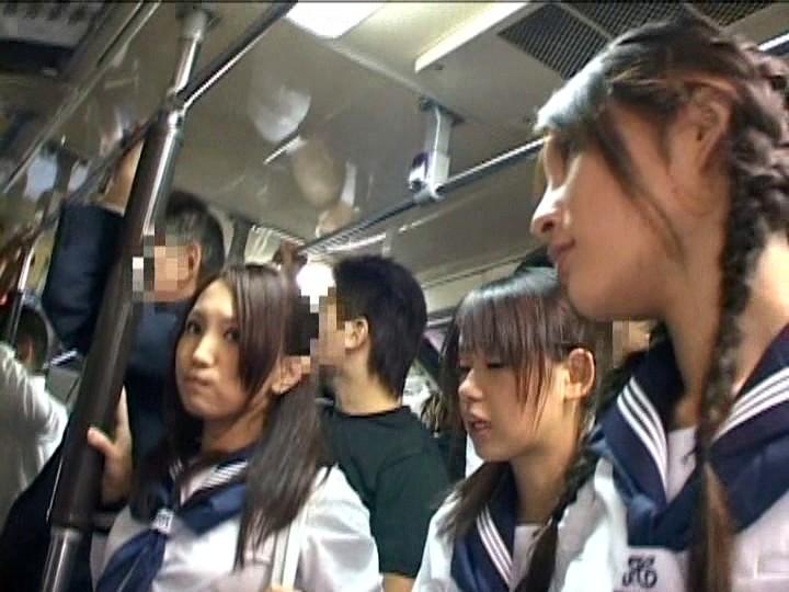 Asian schoolgirl molested on bus #3