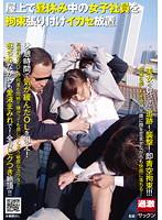 屋上で昼休み中の女子社員を拘束張り付けイカセ放置 ダウンロード