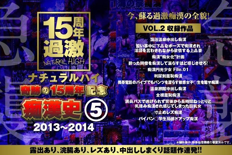 ナチュラルハイ奇跡の15周年記念 痴漢史(5)2013-2014 VOL.2
