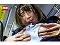 満員バスで背後から制服越しにねっとり乳揉み痴●され腰をクネらせ感じまくる巨乳女子○生6