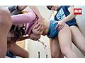 派遣先のエロ兄弟に前屈み拘束のまま垂れ両乳首を下から舐め上げられ無念の発情3Pしてしまう巨乳家庭教師