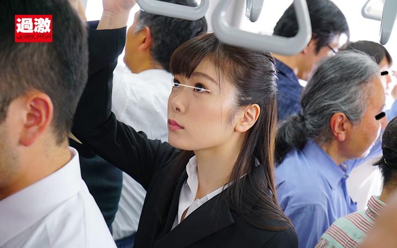 痴●師に満員電車の中で下着姿にされ見られる羞恥で抵抗できない敏感女11