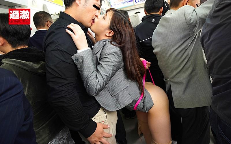 痴●師にグイグイTバックを食い込まされた刺激で感じてしまった美尻女はずらしハメを拒めない3