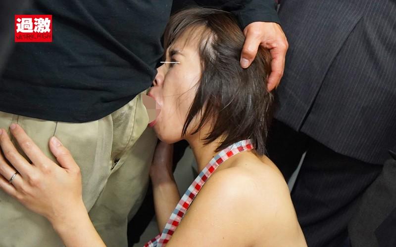 痴●師に全裸にされ恥ずかしい女体を震わせ感じまいと我慢する肉感妻 画像19