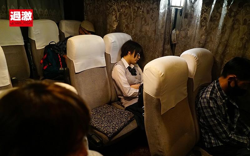 夜行バスで声も出せずイカされた隙に生ハメされた女はスローピストンの痺れる快感に理性を失い中出しも拒めない 女子○生限定6