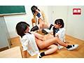 唾液ダラダラ!愛液ドロドロ!黒髪女子○生を粘着なめくじクン...sample19
