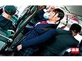 満員バスで背後から制服越しにねっとり乳揉み痴●され腰をクネらせ感じまくる巨乳女子○生12