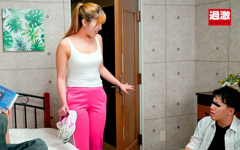 デカ尻がエロい友達の姉の壁ドンベロキス騎乗位で金玉カラになるまで膣内射精させられた 画像1