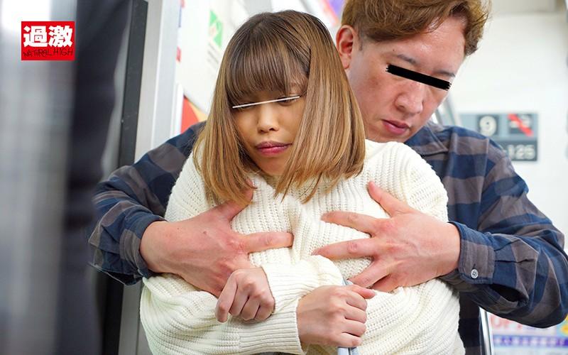 パンティが愛液でぐちょぐちょになるまで痴●され拒めない巨乳女を連れ出し従順SEX8