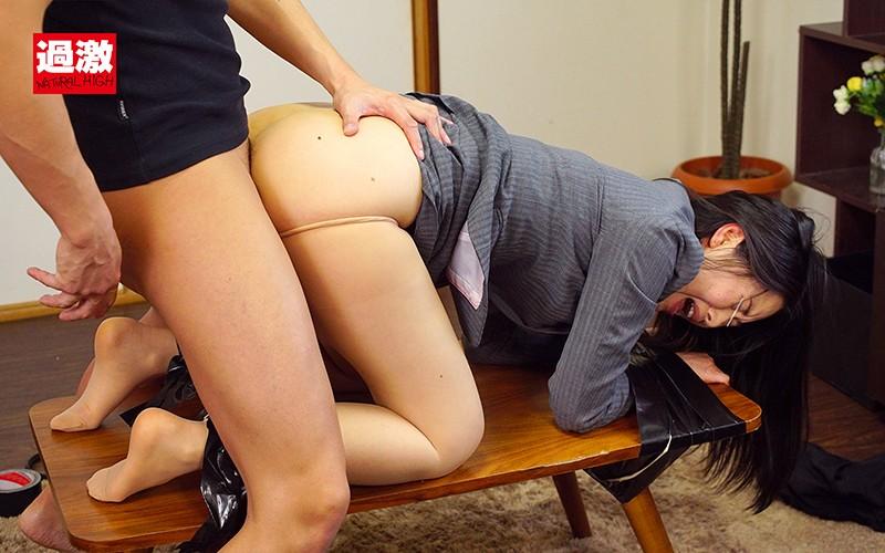 謝罪に来たOLを土下座拘束してアナルを勝手に開発したら謝りながら肛門アクメしまくった! 画像19