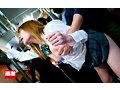 満員バスで背後から制服越しにねっとり乳揉み痴●され腰をクネらせ感じまくる巨乳女子○生14