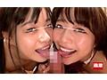 [NHDTB-476T] 【数量限定】上からの濃厚ベロちゅうと下からのスローフェラで同時に責められ連続抜きする痴女っこ姉妹 パンティとチェキ付き