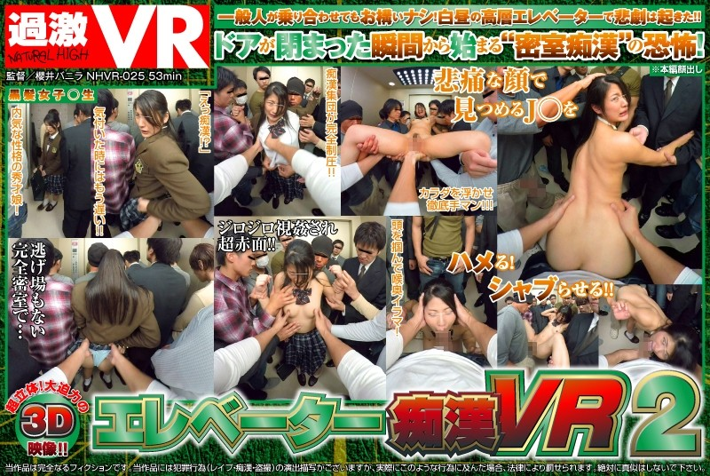 【VR】エレベーター痴漢 VR 2