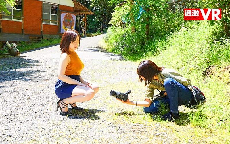 【VR】露出AVの撮影隊と遭遇 VR 昼休み中の公園で女監督さんに誘われて…その場でAV出演!いやらしい田中ねねちゃんに圧倒されて青姦してしまった僕