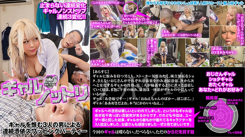 NTTR-014 Gal Possession. 3 Men Who Hate Gals Have Possessed Swapping Parties