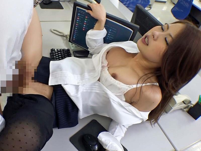 女子社員の黒パンストぷり尻に誘われて社内でヤリました/渋谷さん 渋谷美希 キャプチャー画像 16枚目