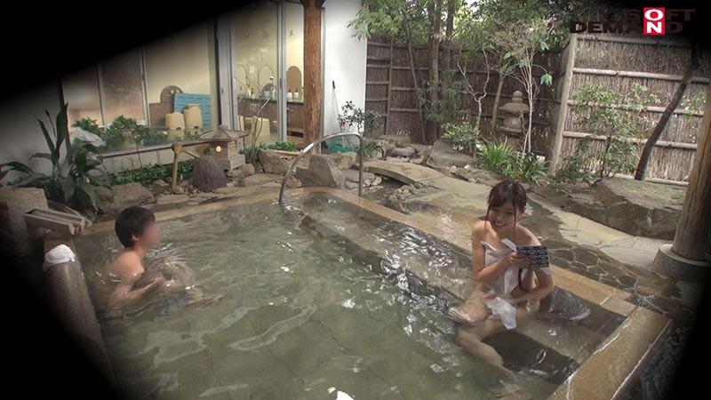 あおい(21) 石和温泉で見つけた卒業旅行中の美巨乳女子学生のお嬢さん タオル一枚 男湯入ってみませんか? キャプチャー画像 5枚目