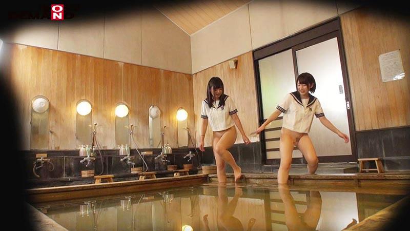 のん・まりん 箱根温泉で見つけた修学旅行中の学生さん 友達と一緒に男湯入ってみませんか? キャプチャー画像 2枚目