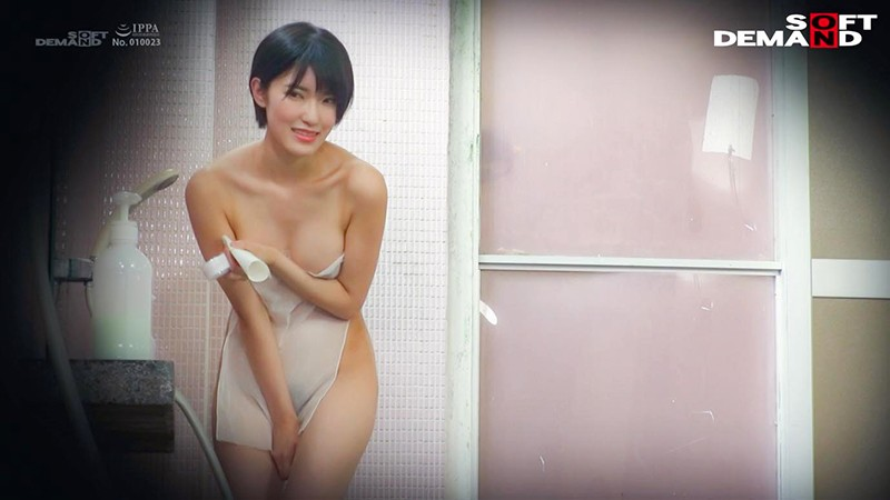 やよい(21) 推定Eカップ 伊豆長岡温泉で見つけた女子大生 タオル一枚 男湯入ってみませんか? 5枚目