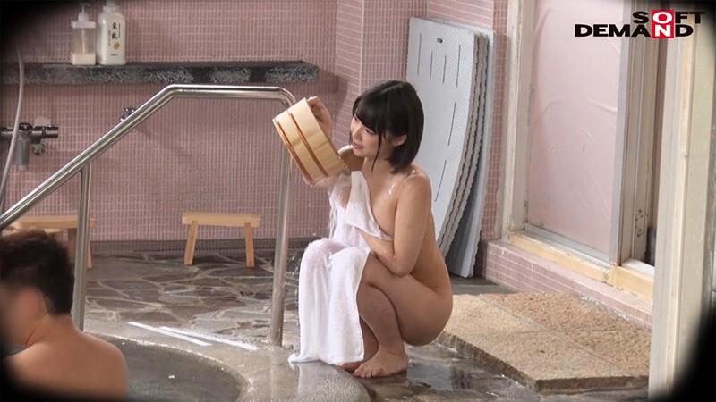 祝!S級の極上シロウト!ななさん(20)推定Eカップ タオル一枚 男湯入ってみませんか? 画像6