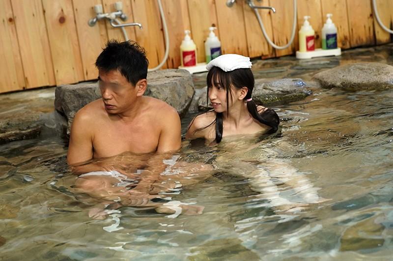 男の浪漫!秘境混浴温泉を求めて…(下心を隠して)混浴温泉に入ったら、ウブでおませなひよこ女子にちんちんバカになるほどおち○ぽみるく絞りとられた