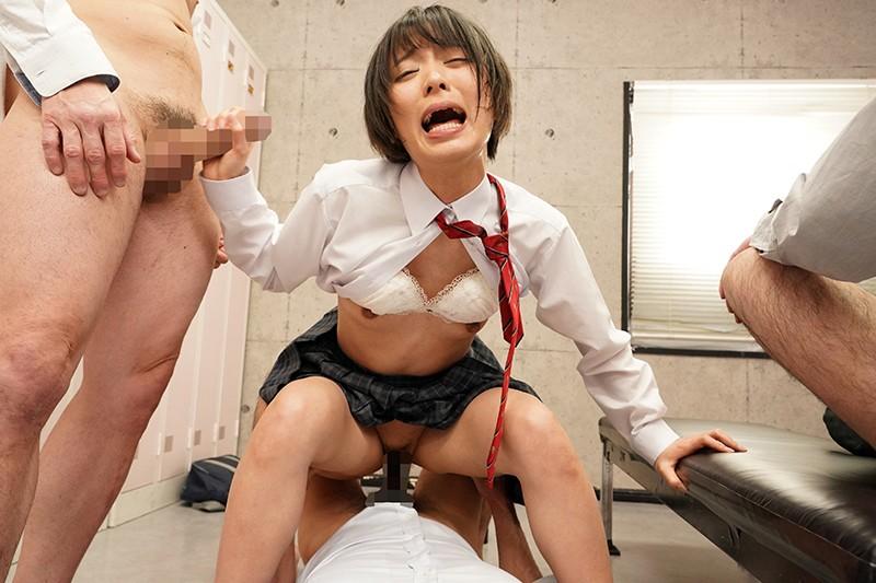 男っぽいことを悩んで女らしくなりたいと教師に相談したら、未成熟な身体を強●的に開発されてメスイキしまくったボーイッシュ女子校生 画像10