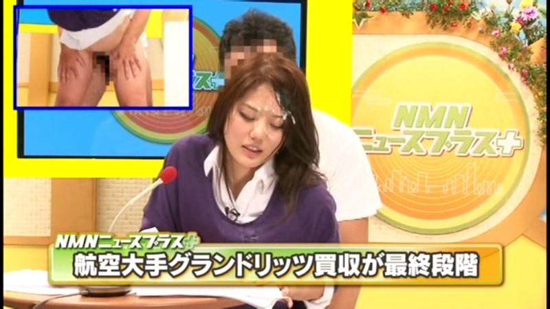 【女子アナ 中出し】美人でHな巨乳の女子アナの、羞恥ぶっかけ顔射プレイエロ動画!まさにパーフェクト!