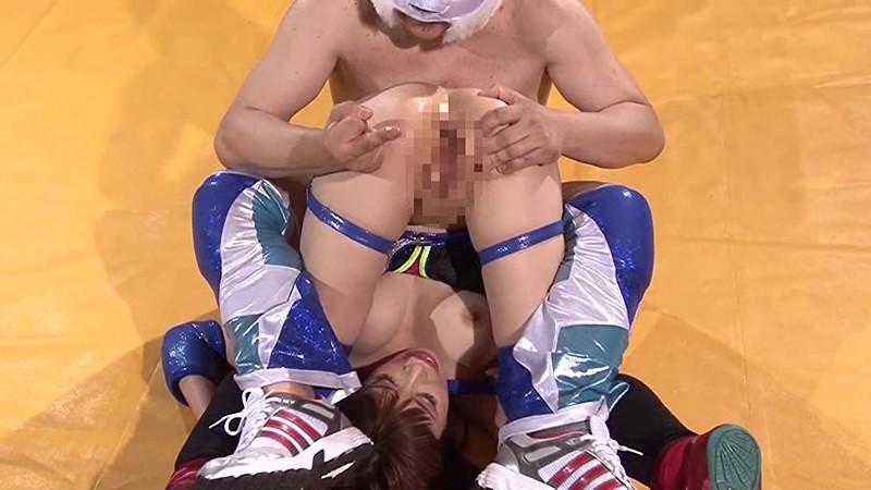 巨乳女子プロレスラー咲舞 痛恨の危険日直撃!孕ませ中出しデスマッチ!! 無料エロ画像17