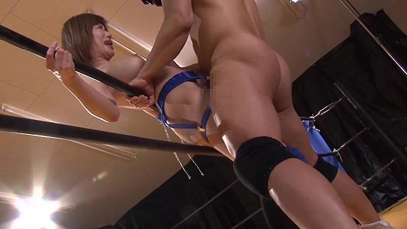 巨乳女子プロレスラー咲舞 痛恨の危険日直撃!孕ませ中出しデスマッチ!!|無料エロ画像20