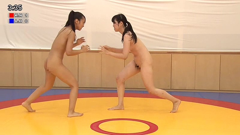 ガチンコ全裸女子レスリング 48Kg級編 画像15