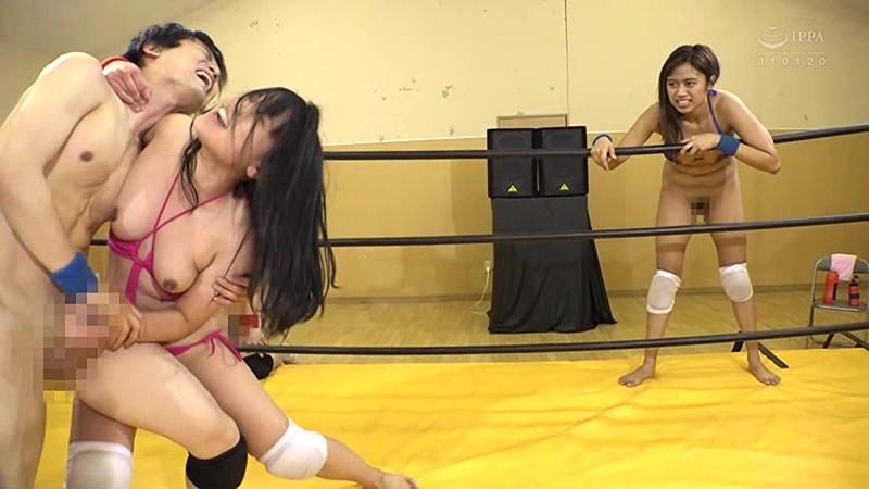 素人カップル対抗!男女混合エロプロレス3|無料エロ画像11