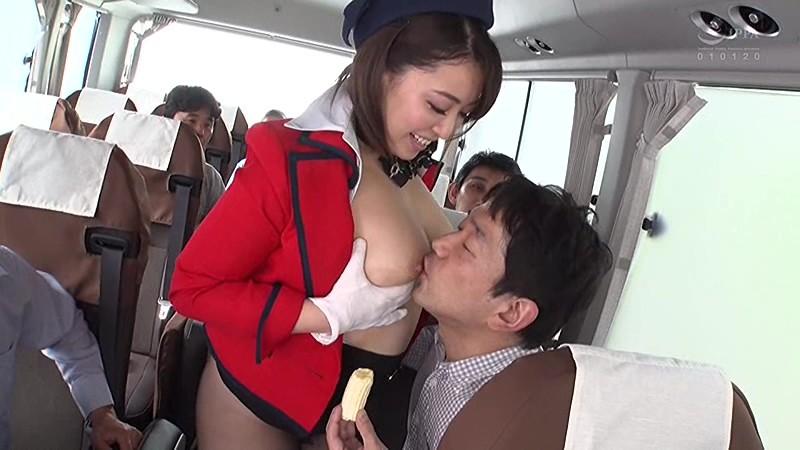 淫語バスガイド 篠崎かんな 3枚目