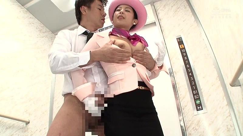 淫語エレベーターガール 鈴木さとみ 3枚目