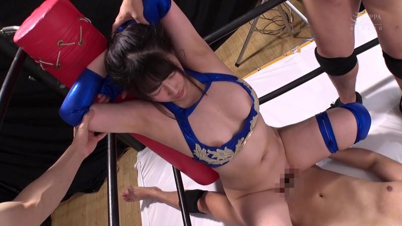 巨乳女子プロレスラー珠莉 痛恨の危険日直撃!連姦中出しデスマッチ!! 12枚目