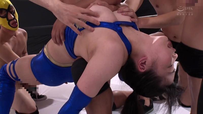 巨乳女子プロレスラー珠莉 痛恨の危険日直撃!連姦中出しデスマッチ!! 16枚目