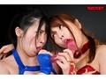巨乳女子プロレスラー珠莉VS朱音 レズプロレス3本勝負sample18