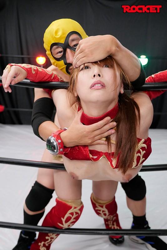 巨乳女子プロレスラー朱音の時間よ止まれ!のサンプル画像
