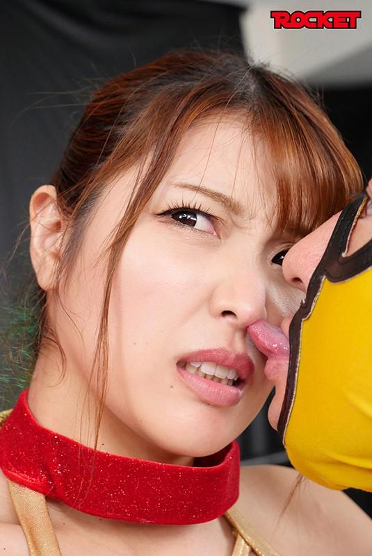 「巨乳女子プロレスラー朱音の時間よ止まれ!」無修正