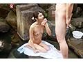 『妻が寝取られる姿を見て大興奮です!そして僕も参戦したい!』旦那の特殊な【妻を寝取らせた後の参加型3P】願望を叶えるべく混浴温泉に招待!人妻は不倫SEXまでしてしまうのか?