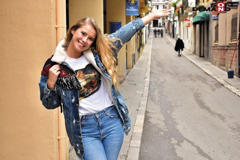観光でヨーロッパに行ったらノリで中出しSEX撮れちゃいました! キャプチャー画像 16枚目