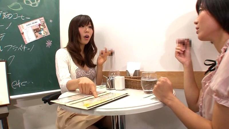 壁!机!椅子!から飛び出る生チ○ポが人気のお店 「喫茶しゃぶりながら」・・・さらにハメながら 画像1